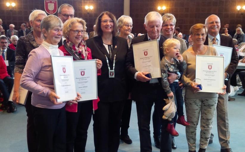 Ehrenamtspreis für Gisela Borgmann