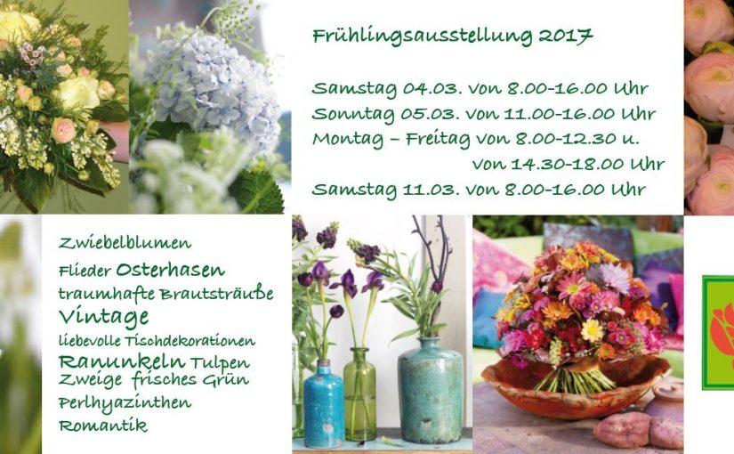 Frühlingsausstellung 2017