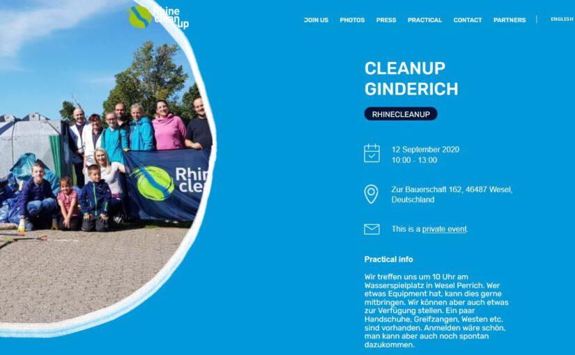 Rhine Clean Up 2020